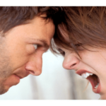 Wife shouting at husband - arguing constantly