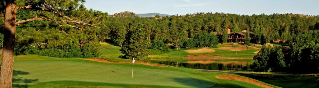 Confident Man Golf Retreat